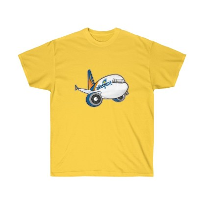 airplaneTees Allegiant Air Airbus Tee - Unisex Ultra Cotton - A321 5