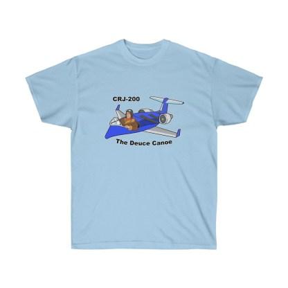 airplaneTees Deuce Canoe Tee - CRJ200 - Unisex Ultra Cotton 1