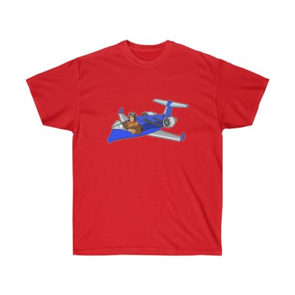 airplaneTees Deuce Canoe Tee CRJ200 - Unisex Ultra Cotton 14