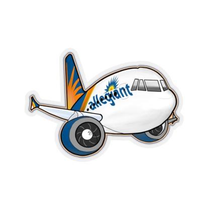 airplaneTees Allegiant Air Airbus Stickers - Kiss-Cut A321 11