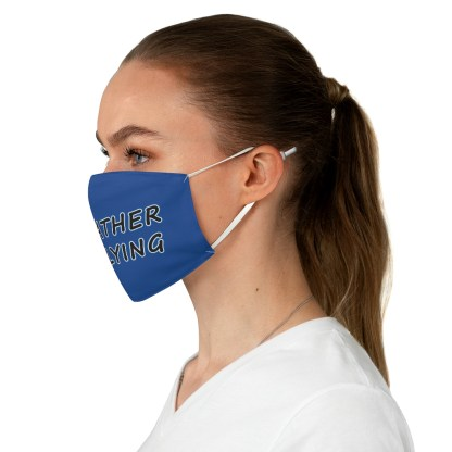 airplaneTees Id rather be flying mask - Face Mask - Fabric 1