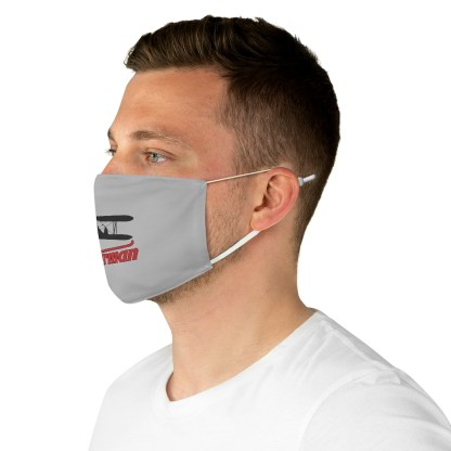 airplaneTees Stearman Face Mask - Logo, Fabric 1