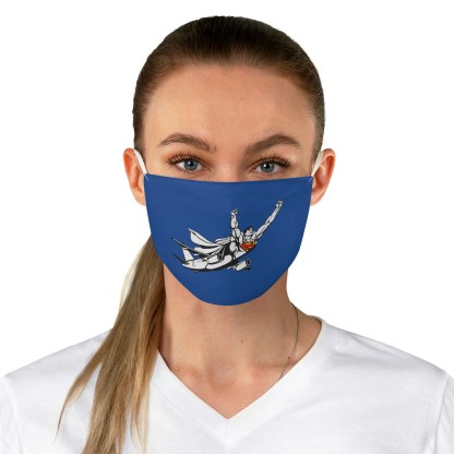 airplaneTees SuperPlane Face Mask - Fabric 1