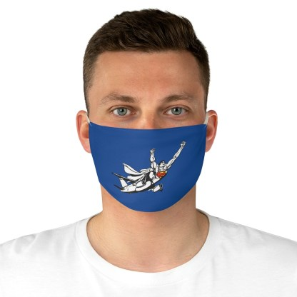 airplaneTees SuperPlane Face Mask - Fabric 4