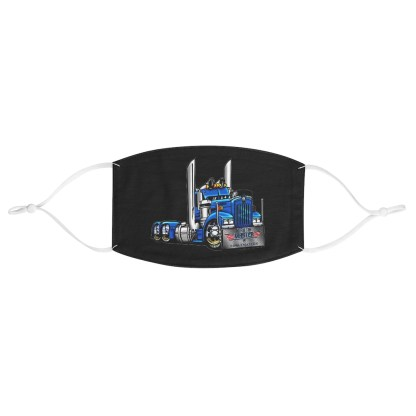 airplaneTees Truckmasters Face Mask - Fabric 2