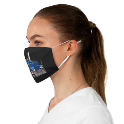 airplaneTees Truckmasters Face Mask - Fabric 4