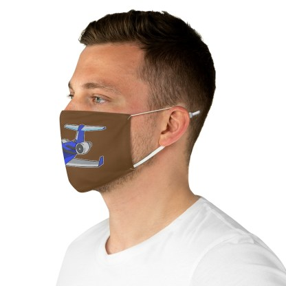 airplaneTees Deuce Canoe Face Mask - Fabric 5