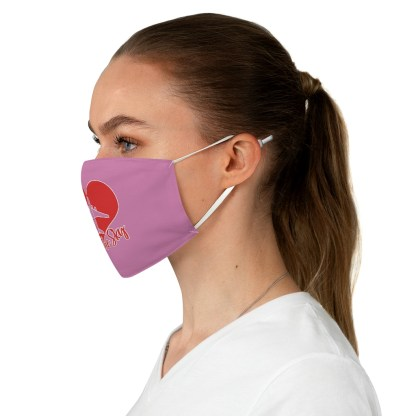 airplaneTees Kiss the Sky Face Mask - Fabric 3