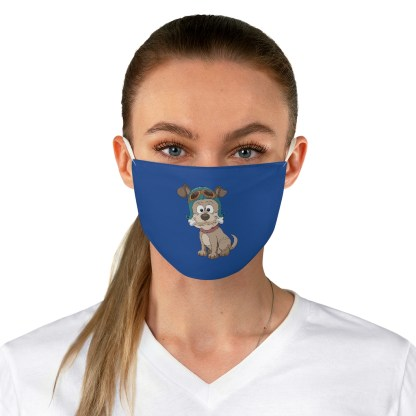airplaneTees Doggie Aviator Face Mask - Fabric 1