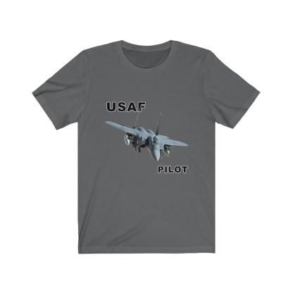 airplaneTees USAF Pilot Tee F15 - Unisex Jersey Short Sleeve Tee 13