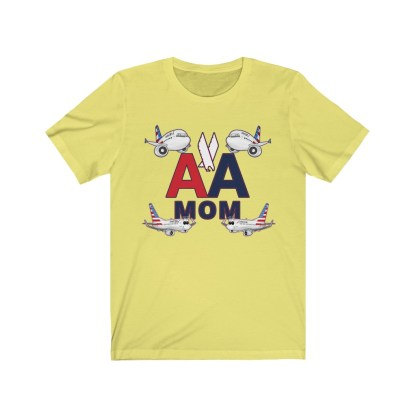 airplaneTees AA MOM Tee - Unisex Jersey Short Sleeve 6