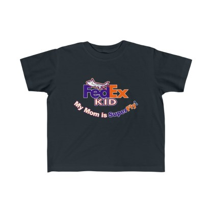 airplaneTees Fedex Mom is Superfly tee - Kid's Fine Jersey 4
