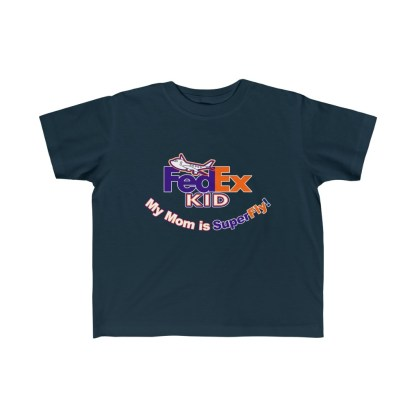 airplaneTees Fedex Mom is Superfly tee - Kid's Fine Jersey 1