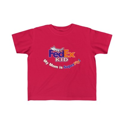 airplaneTees Fedex Mom is Superfly tee - Kid's Fine Jersey 5