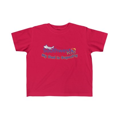 airplaneTees Southwest Dad is Superfly tee - Kid's Fine Jersey 5