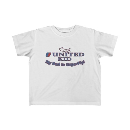 airplaneTees United Dad is Superfly Tee - Kid's Fine Jersey 2