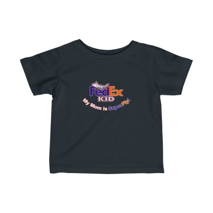 airplaneTees FedEx Mom is Superfly Tee - Infant Fine Jersey 4
