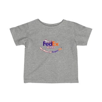 airplaneTees FedEx Mom is Superfly Tee - Infant Fine Jersey 3