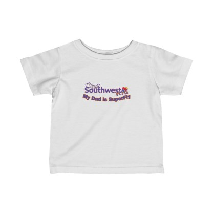 airplaneTees Southwest Dad is Superfly Tee - Infant Fine Jersey 2