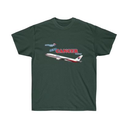 airplaneTees Send Cancer Packing Tee - Unisex Ultra Cotton - F Cancer 5