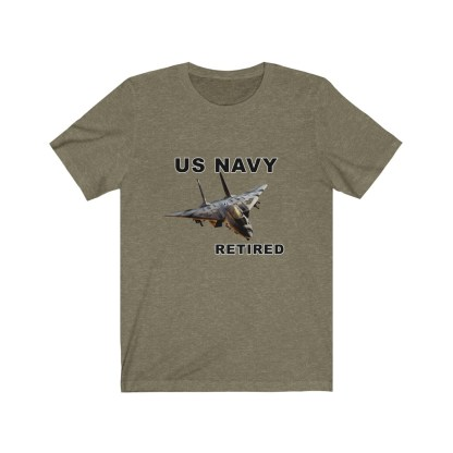 airplaneTees USN F14 Retired Tee - Unisex Jersey Short Sleeve Tee 8