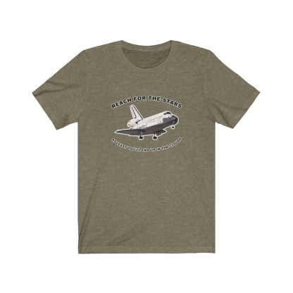 airplaneTees Reach for the stars and at least you will end up in the clouds tee - Unisex Jersey Short Sleeve Tee 6