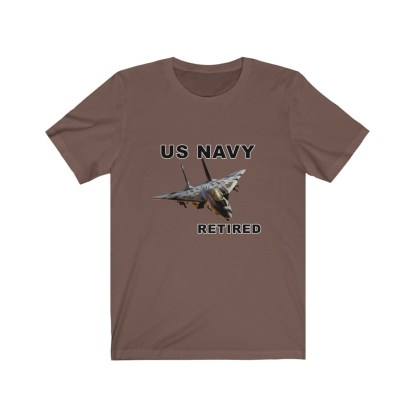 airplaneTees USN F14 Retired Tee - Unisex Jersey Short Sleeve Tee 5