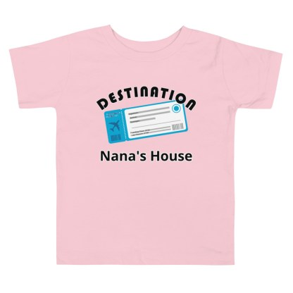 airplaneTees Custom Destination Nanas House - Toddler Short Sleeve Tee 3