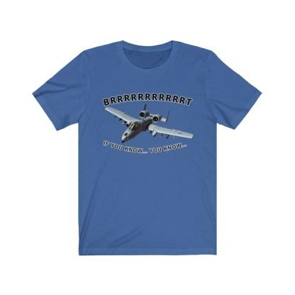 airplaneTees BRRRRRRT A10 Warthog Tee - Unisex Jersey Short Sleeve 9