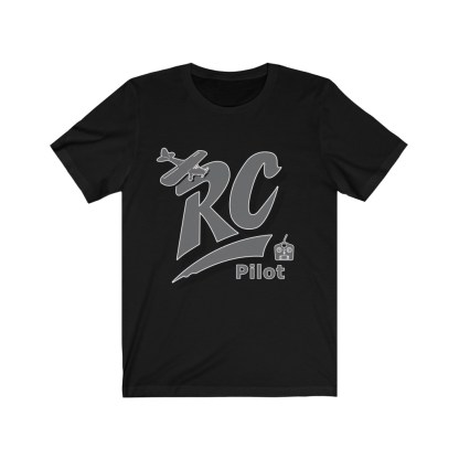 airplaneTees RC Pilot Tee - Unisex Jersey Short Sleeve Tee 3