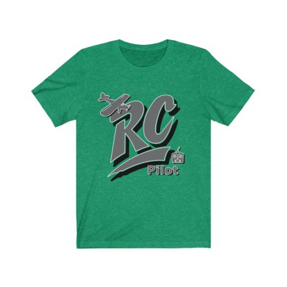 airplaneTees RC Pilot Tee - Unisex Jersey Short Sleeve Tee 4