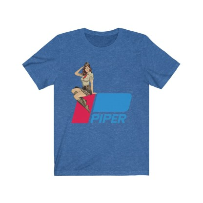 airplaneTees Pinup Piper Tee - Unisex Jersey Short Sleeve Tee 8