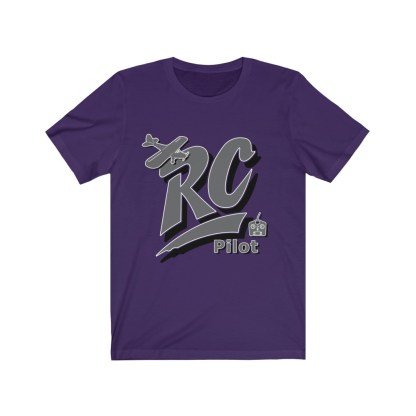 airplaneTees RC Pilot Tee - Unisex Jersey Short Sleeve Tee 7