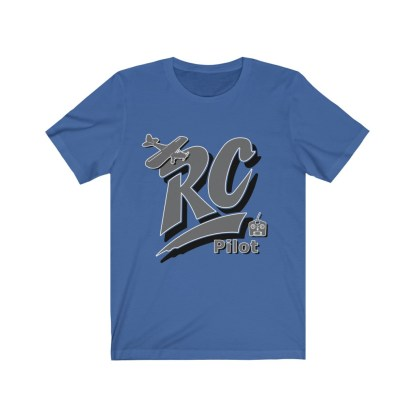 airplaneTees RC Pilot Tee - Unisex Jersey Short Sleeve Tee 5
