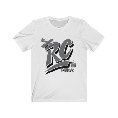 airplaneTees RC Pilot Tee - Unisex Jersey Short Sleeve Tee 2