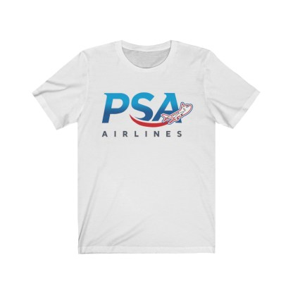 airplaneTees PSA Airlines Airplane Logo Tee - Unisex Jersey Short Sleeve 1