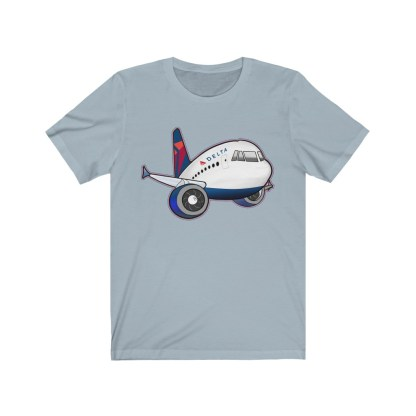 airplaneTees Delta Airbus Tee – Unisex Jersey Short Sleeve 7