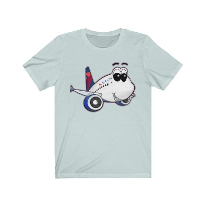 airplaneTees Delta Smiles Airbus Tee – Unisex Jersey Short Sleeve 6