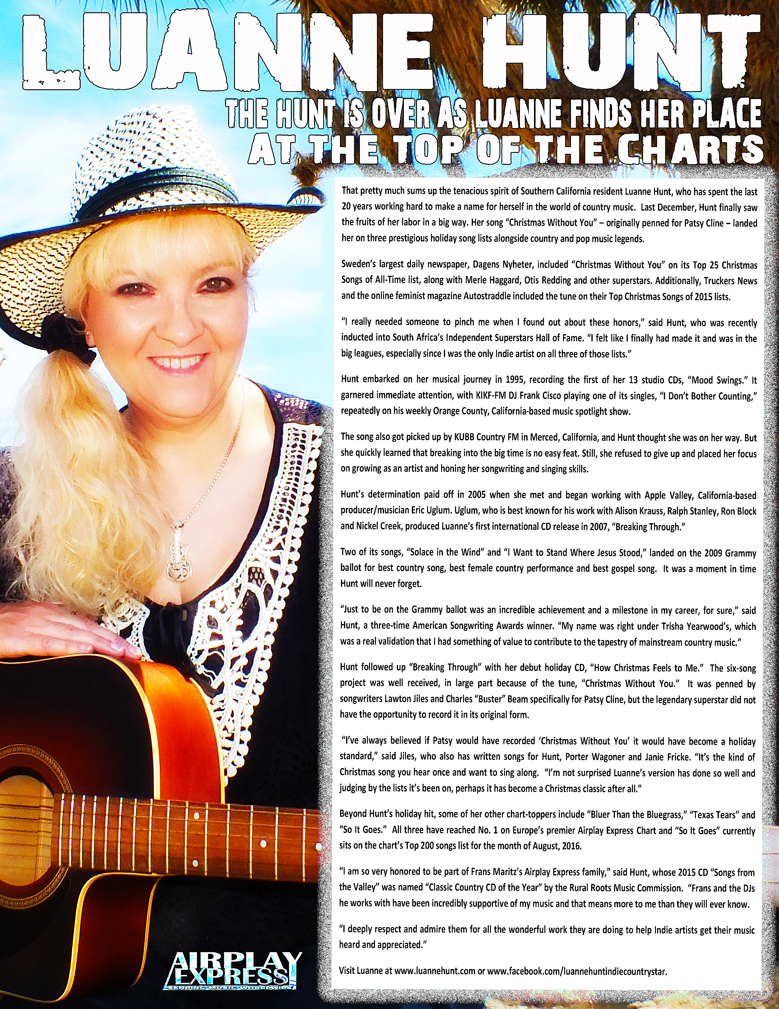 WHISNews21 August 08/16   Airplay Express