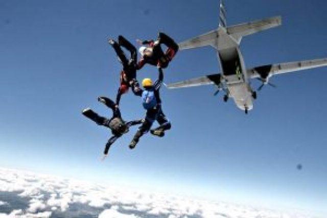 saut chute libre