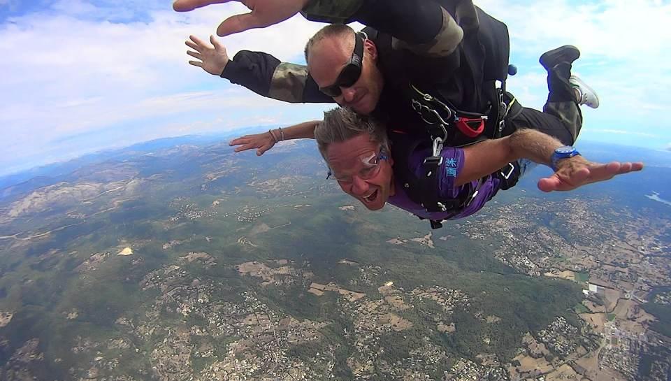Saut en Parachute Var