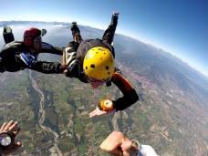 Idée cadeau saut en parachute d'initiation