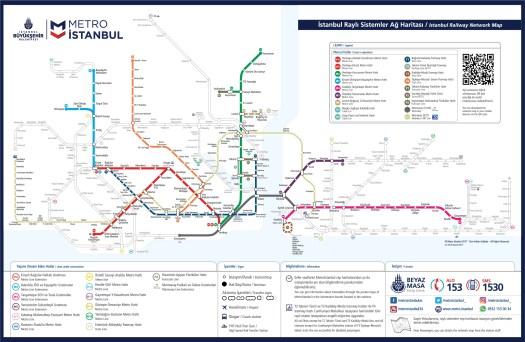istanbul metro map istanbul new airport metro line