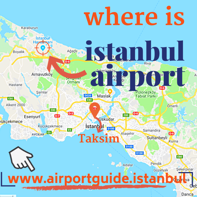 where is new istanbul airport (isl)