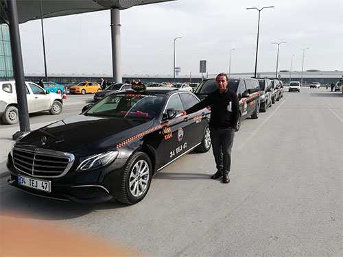 istanbul airport lux mercedes taxi