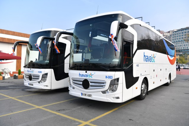 Istanbul Airport HAVAIST Buses