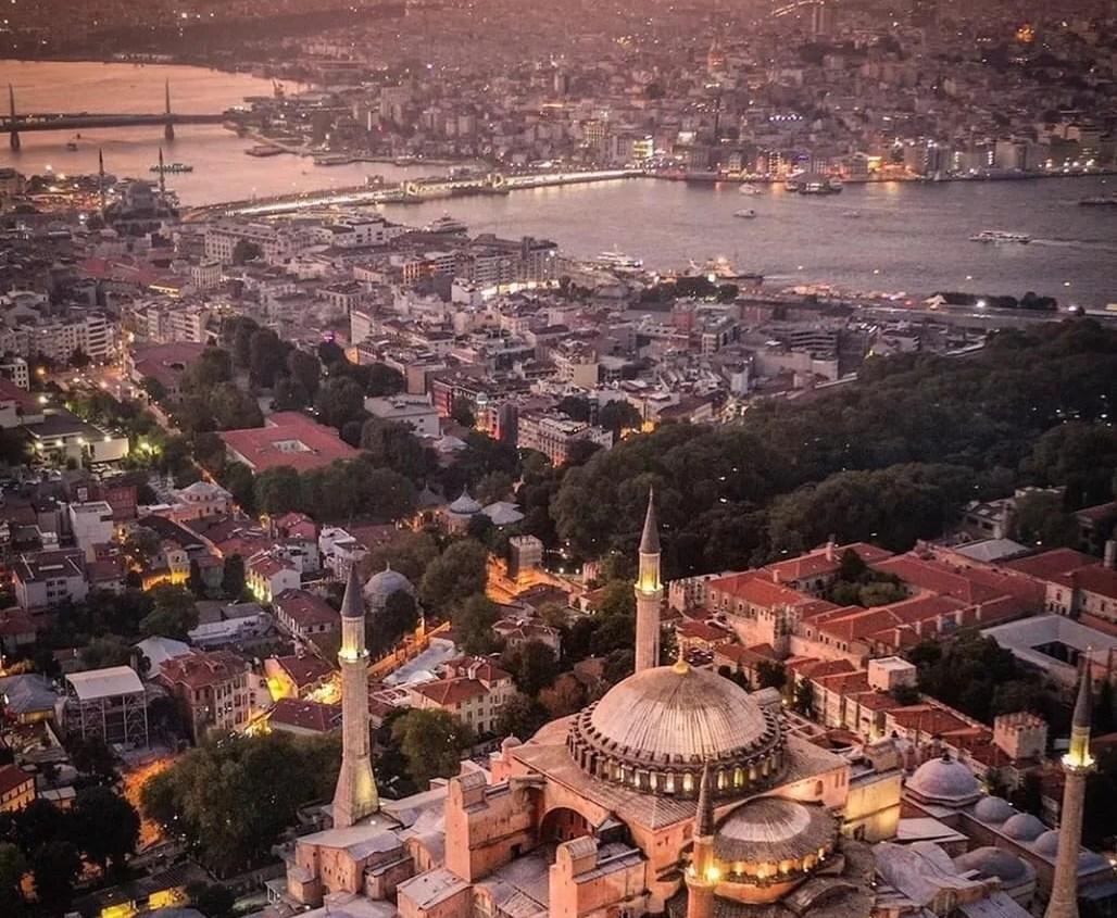 Hagia Sophia & Golden Horn