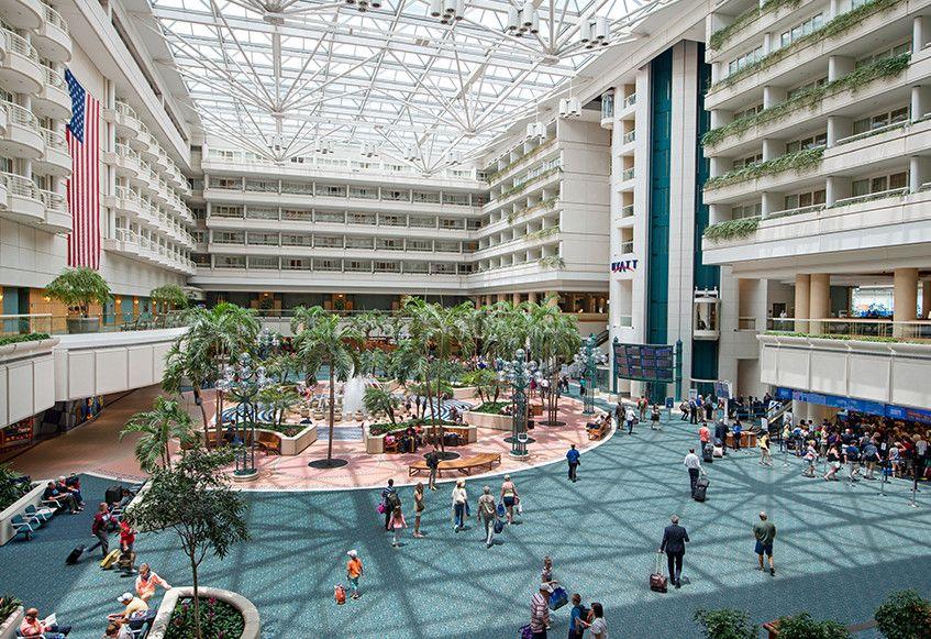 Orlando MCO International Airport Florida
