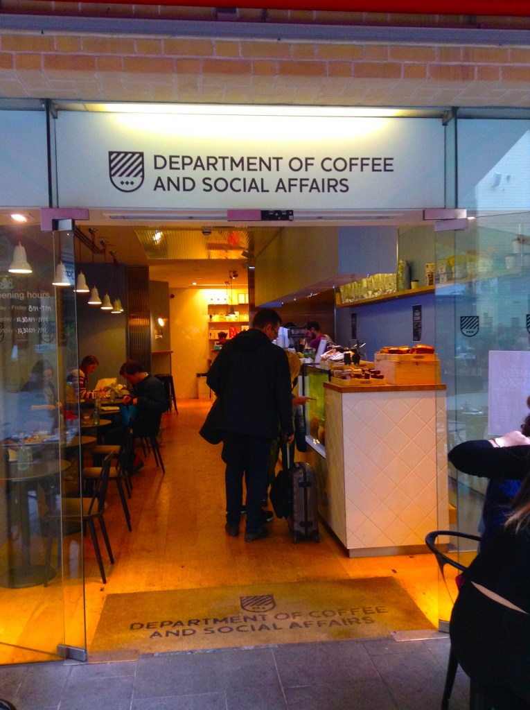 dep. of coffee and social affairs