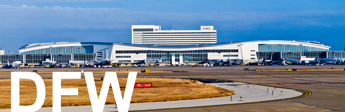 Dallas International Airport Terminal Map